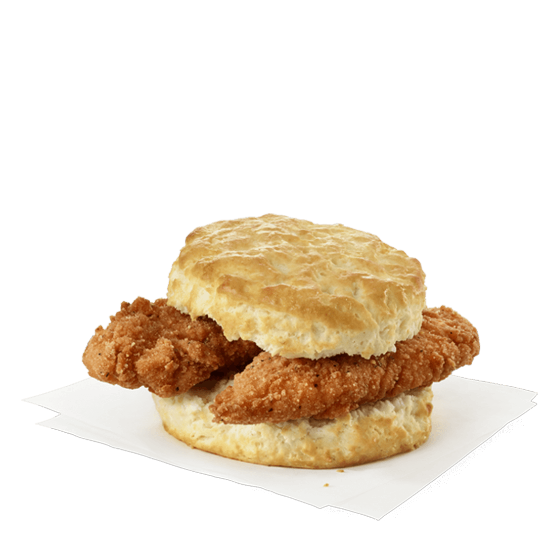 Spicy Chick-fil-A Chick-n-Strips® Biscuit