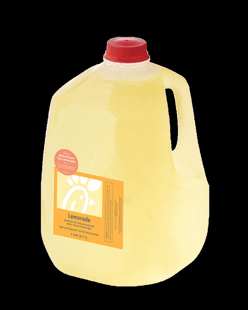 Gallon White Peach Tea Lemonade