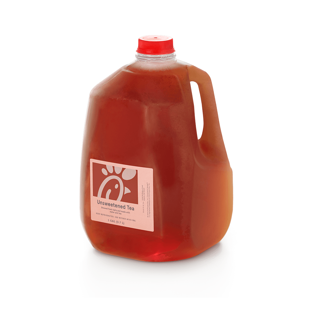 Gallon Freshly-Brewed Iced Tea Unsweetened