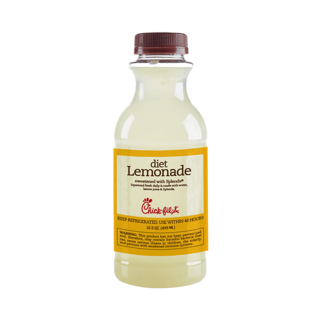 Single Serve Diet Lemonade Chick Fil A