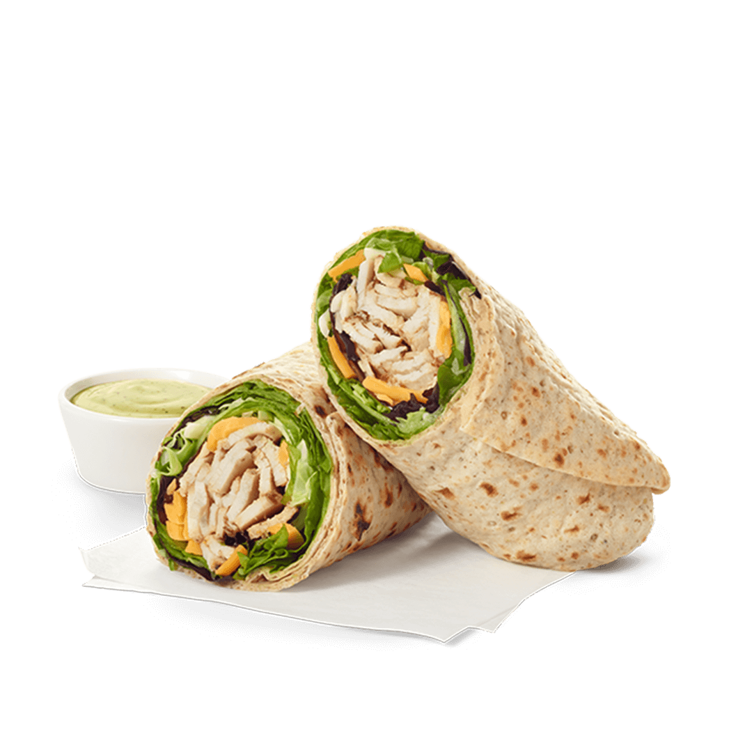 grilled chicken cool wrap nutrition and description chick fil a
