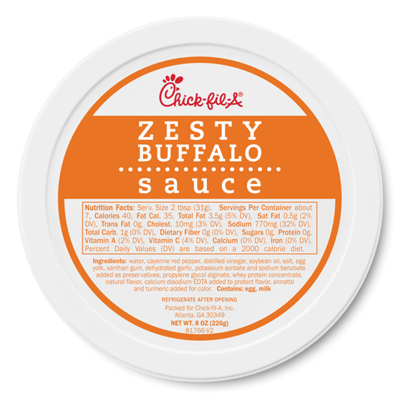8oz Zesty Buffalo Sauce
