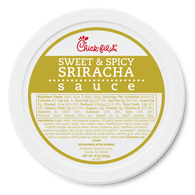 8oz Sweet and Spicy Sriracha Sauce