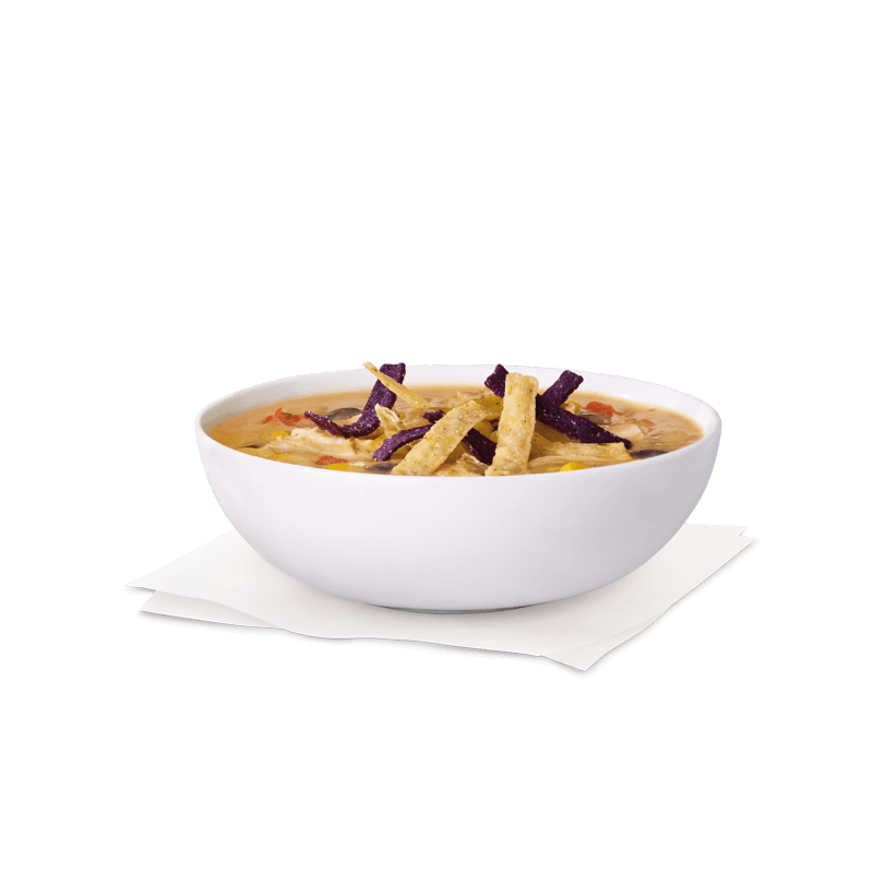 Cup of Chicken Tortilla Soup