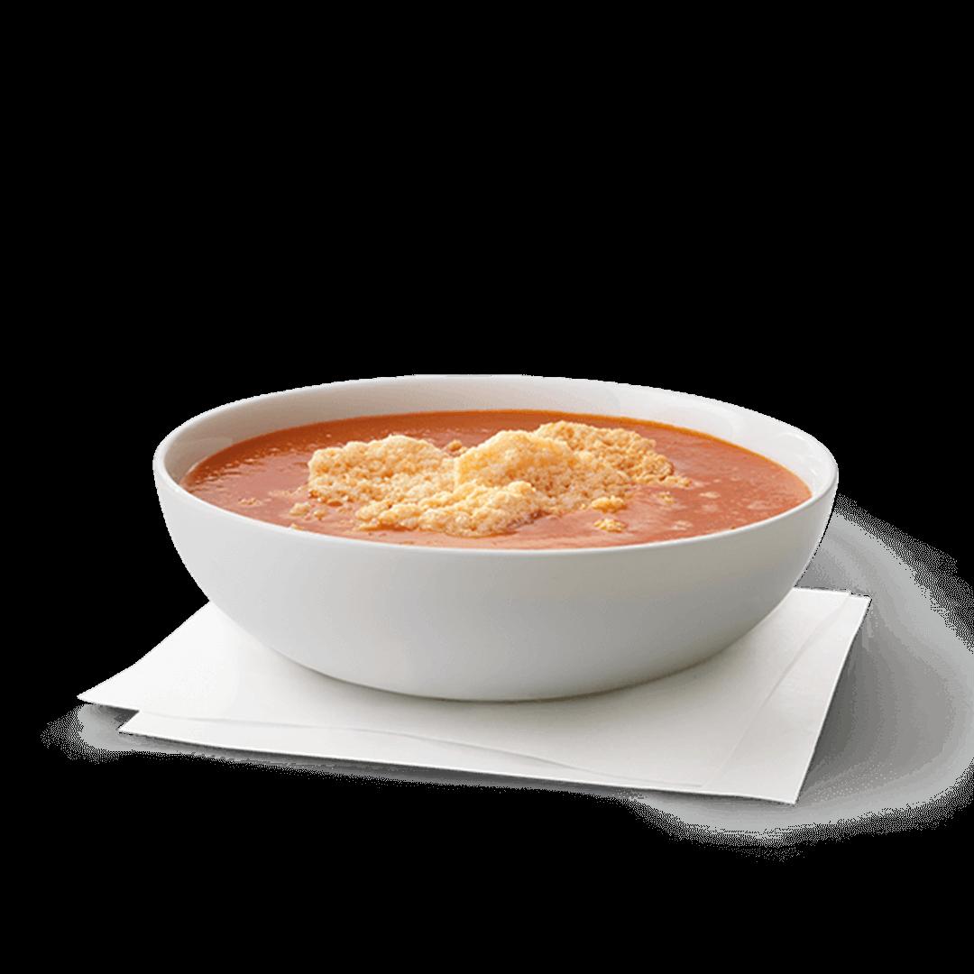 Bowl of Tomato Asiago Soup