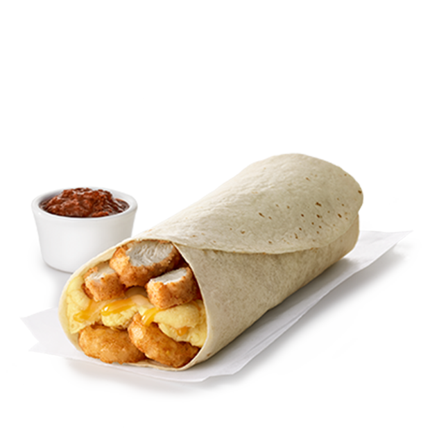 Hash Brown Scramble Burrito