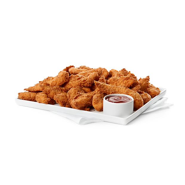 Large Spicy Chick-n-Strips™ (Cooked & Chilled for Later) Tray™