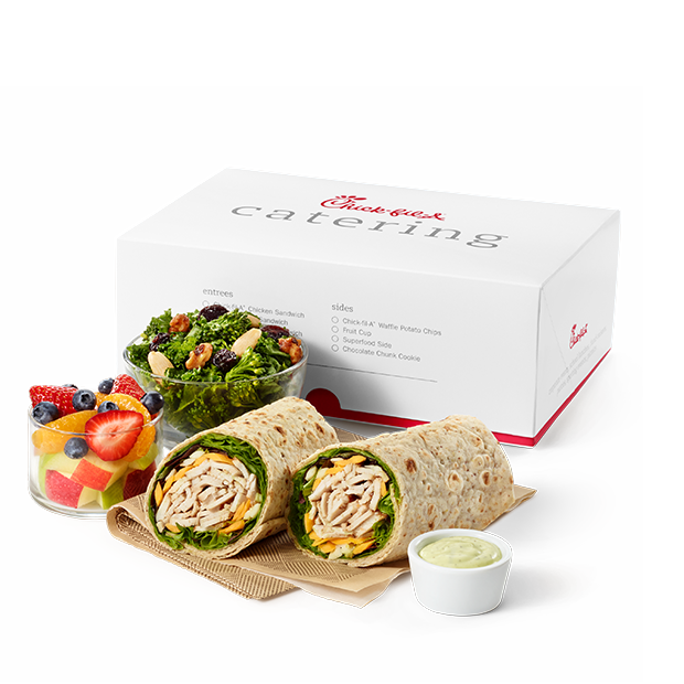 Regular Grilled Chicken Cool Wrap Packaged Meal