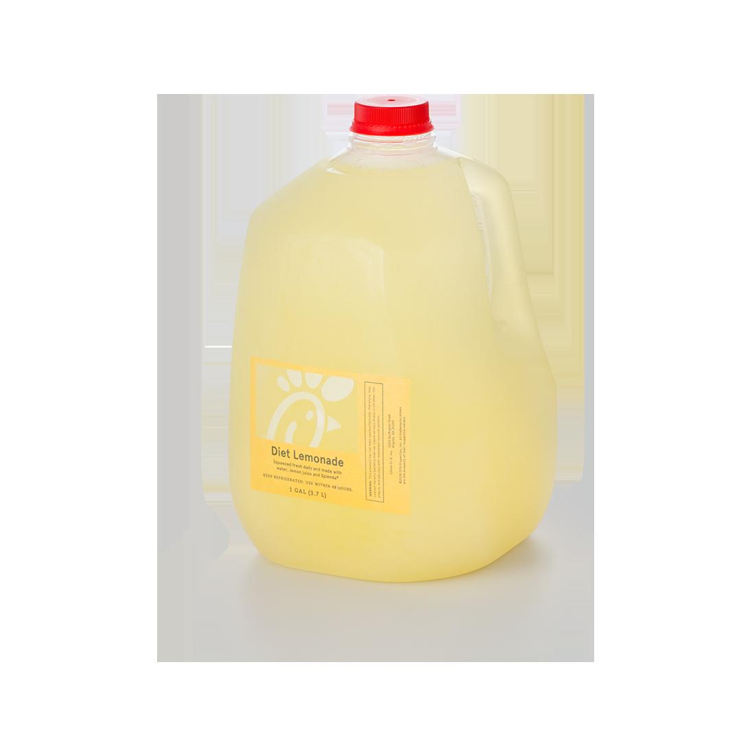 Gallon Fresh Squeezed Diet Lemonade Chick Fil A