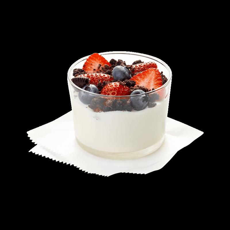 Greek Yogurt Parfait w/ Cookie Crumbs