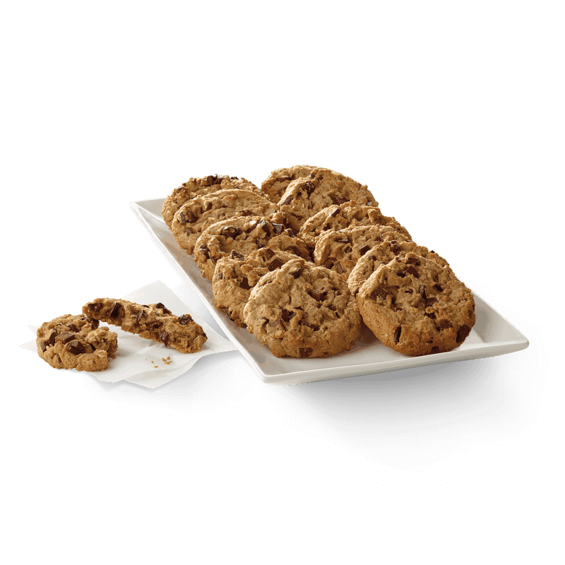 Chocolate Chunk Cookie Tray