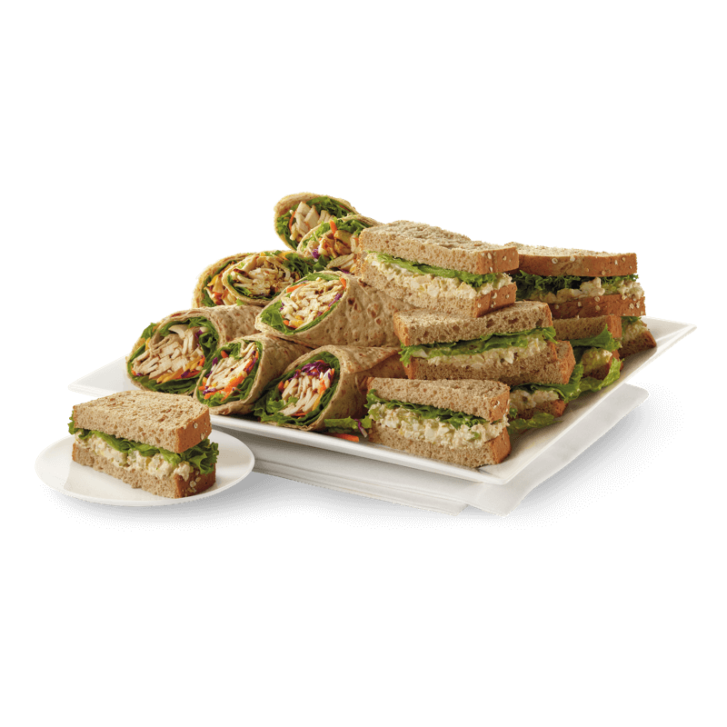 Grilled Chicken Cool Wrap<sup>®</sup> & Chicken Salad Sandwich Tray