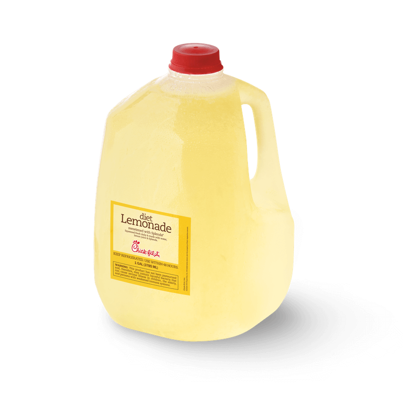 Gallon fresh-squeezed Diet Lemonade
