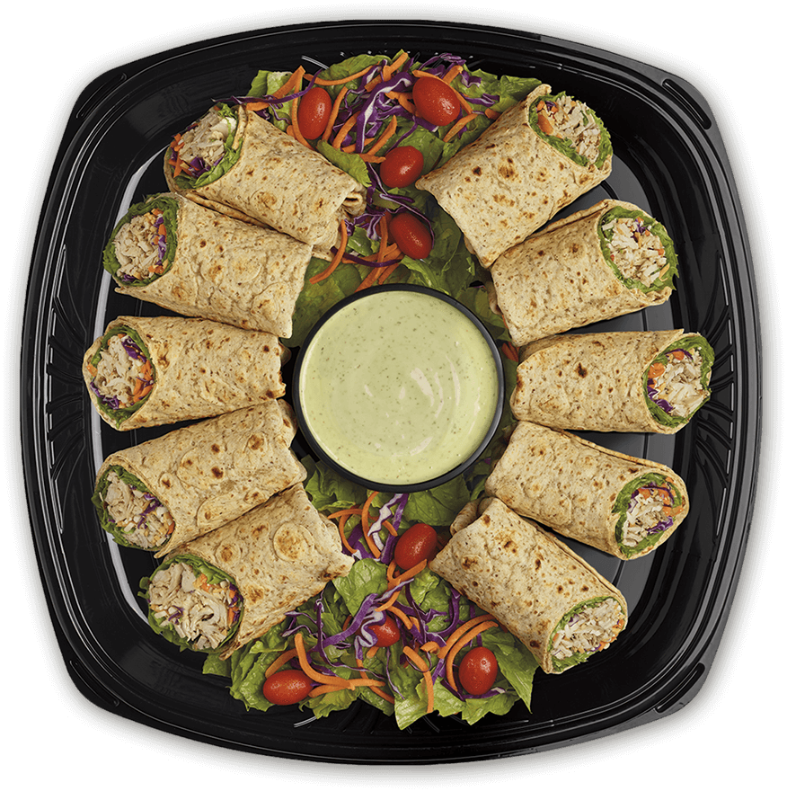 Small Grilled Chicken Cool Wrap® Tray