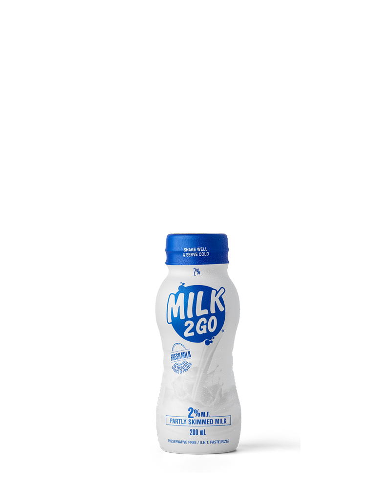 1% White Milk