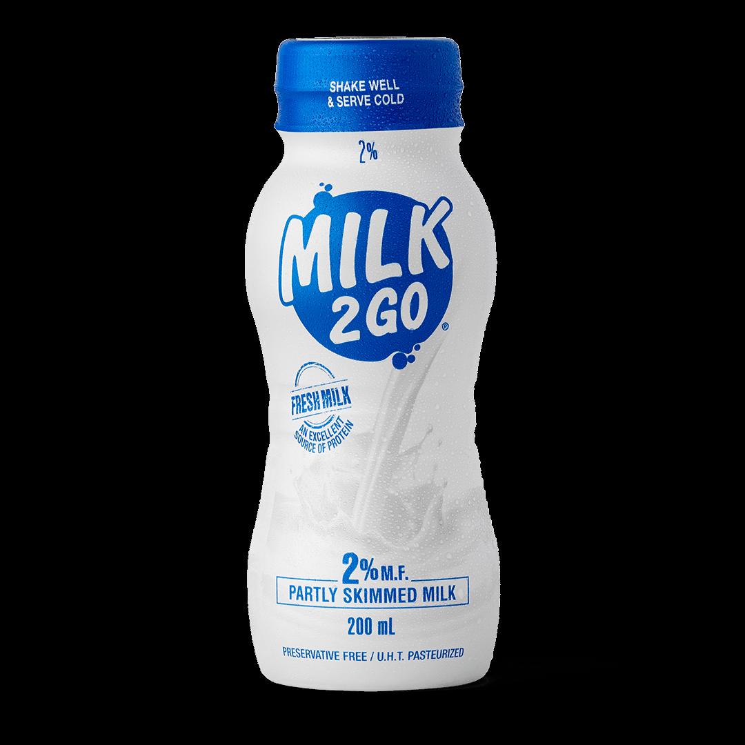 2% White Milk