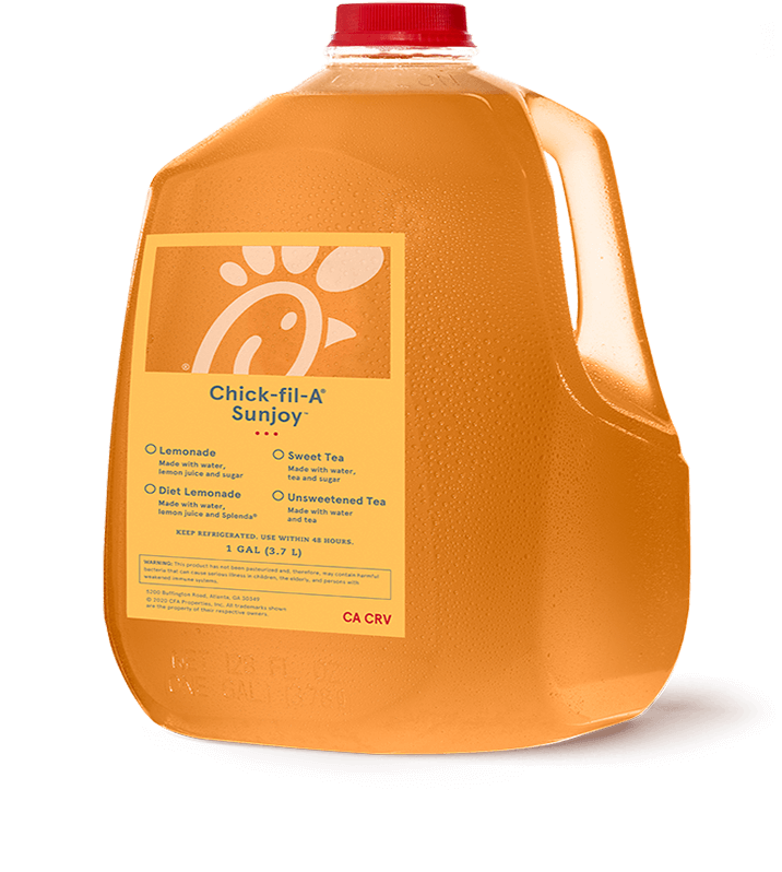 Gallon Sunjoy<sup>®</sup> (1/2 Sweet Tea, 1/2 Lemonade)