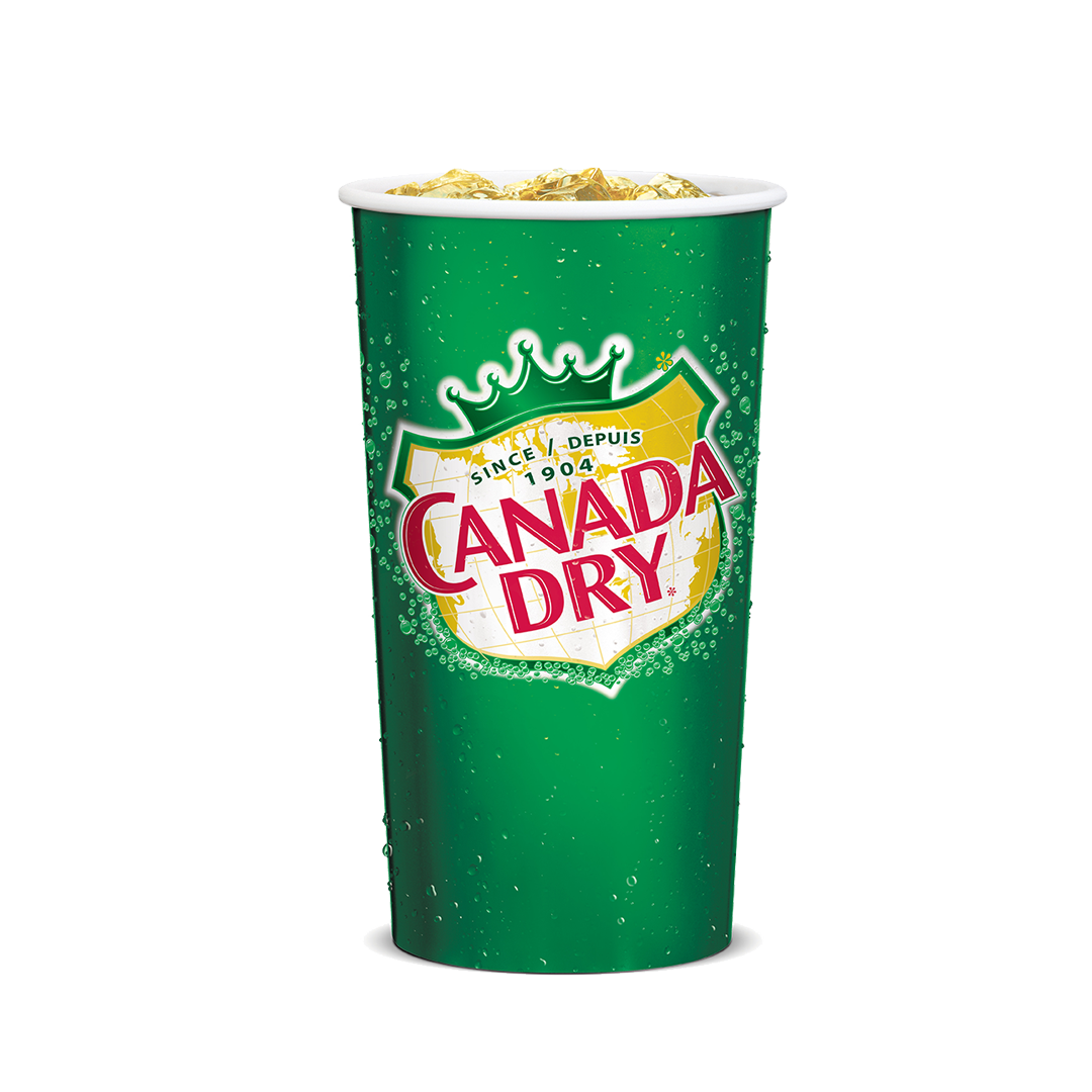 Medium Canada Dry® Ginger Ale