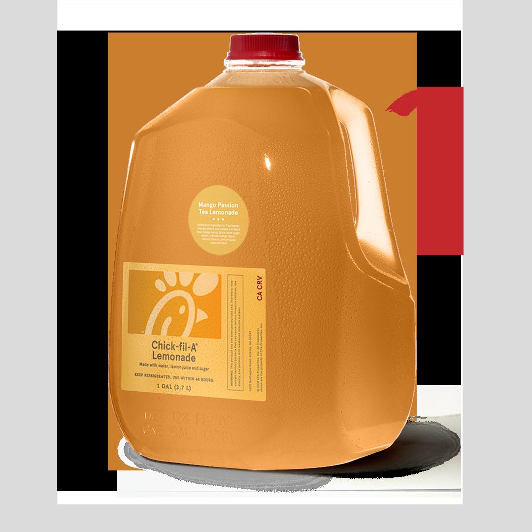 Gallon Mango Passion Tea Lemonade Chick Fil A