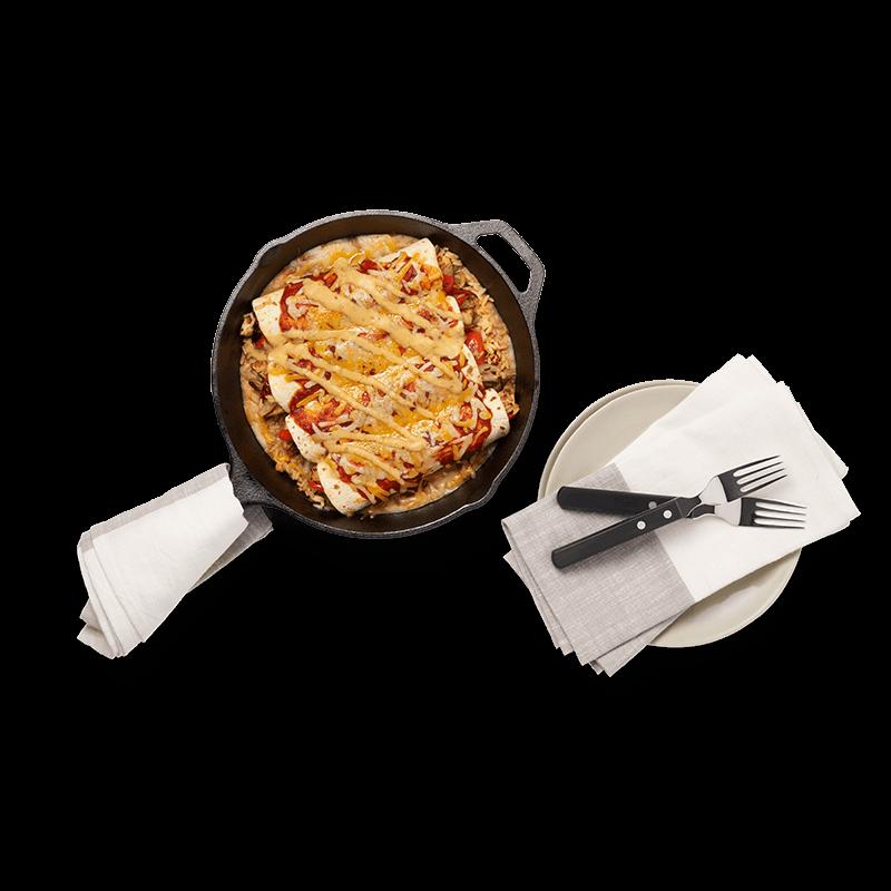 Chicken Enchiladas - Serves 2(limited quantity)