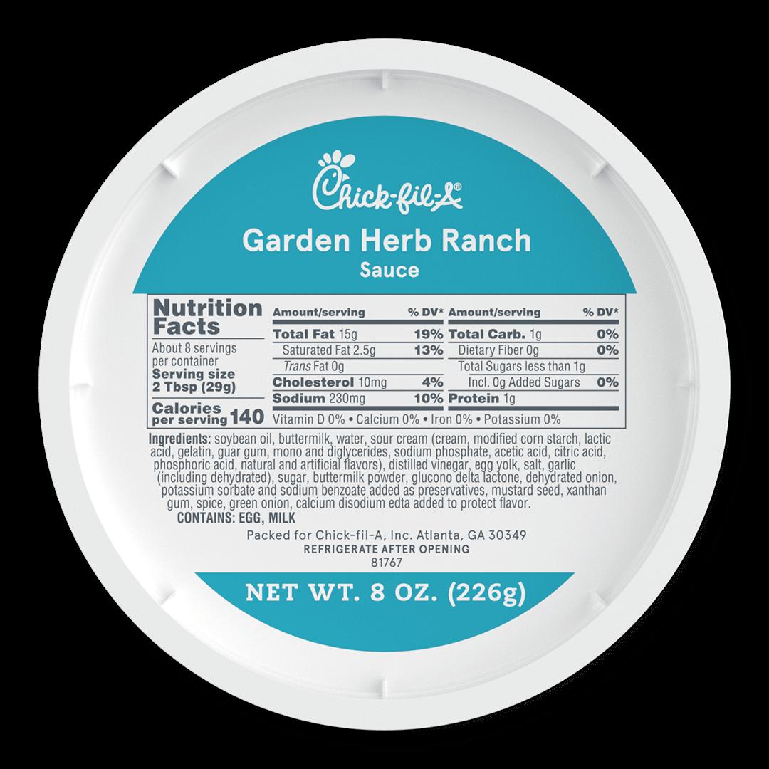 8oz Garden Herb Ranch Sauce