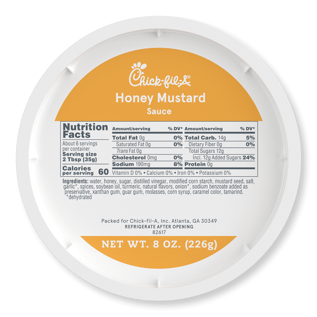 8oz Honey Mustard Sauce