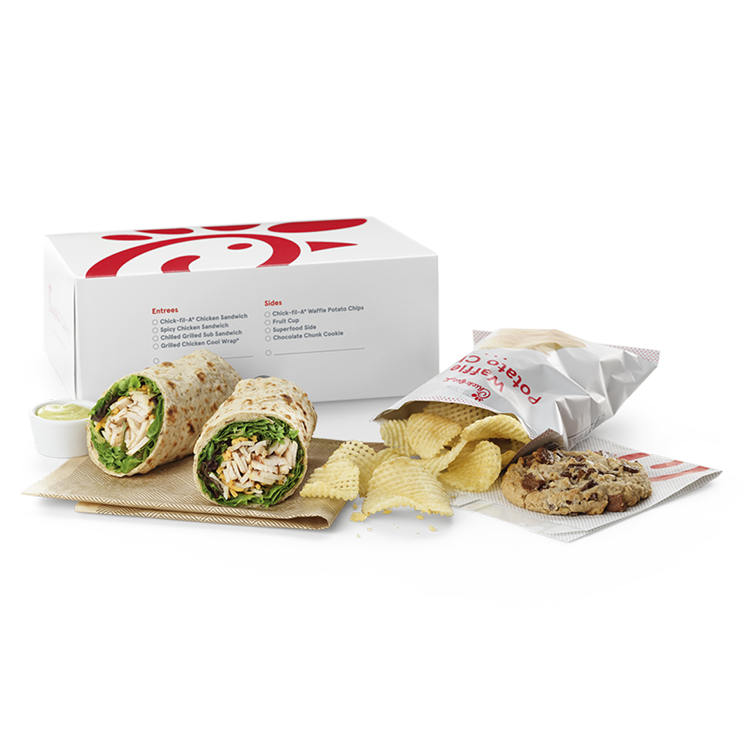 Regular Chick-fil-A® Cool Wrap Packaged Meal