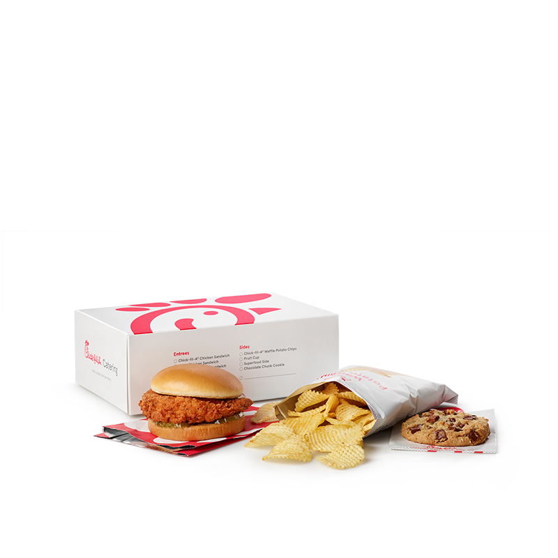 Spicy Chicken Sandwich Packaged Meal