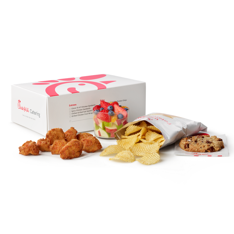 Regular 8 ct Chick-fil-A® Nuggets Packaged Meal