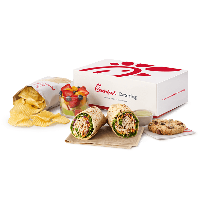 Grilled Chicken Cool Wrap Packaged Meal