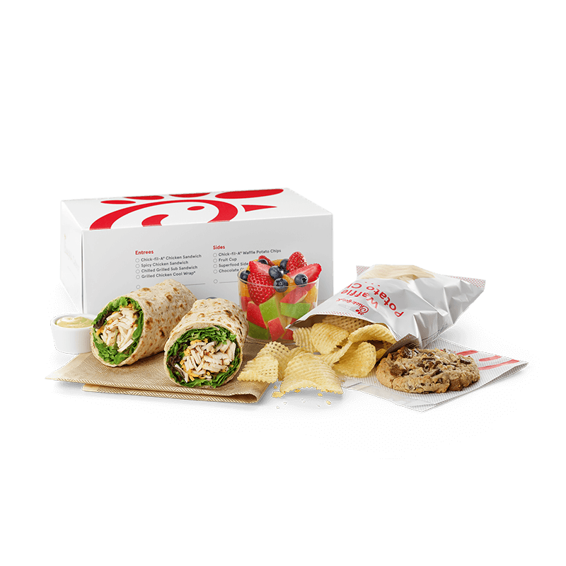 Regular Grilled Cool Wrap Packaged Meal