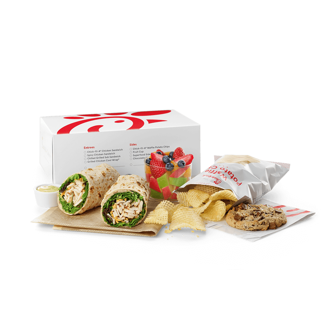 Chick-fil-A<sup>®</sup> Cool Wrap Packaged Meal