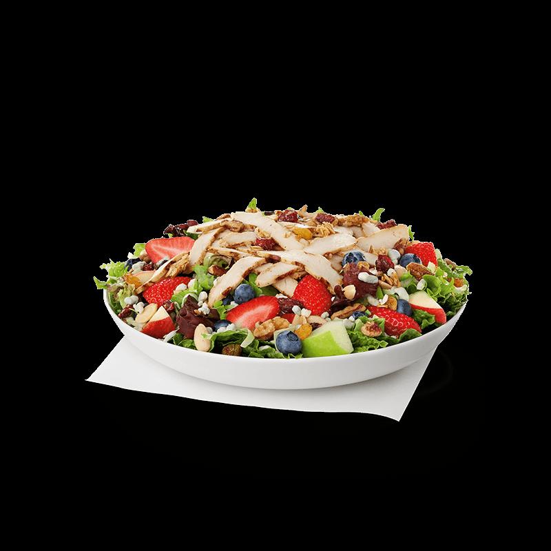 Grilled Market Salad w/ Grilled Filet (Cold)
