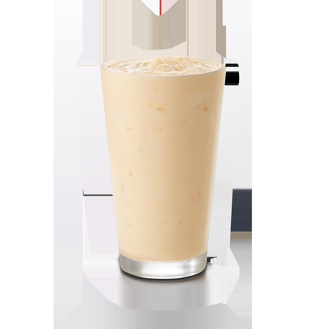 Large Peach Milkshake
